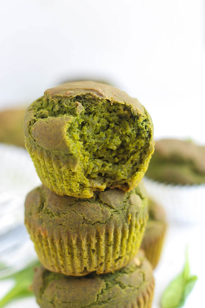 If you struggle to get your greens in, how about making some muffins? These Spinach Muffins are packed with nutritious spinach, but you can't even taste it!