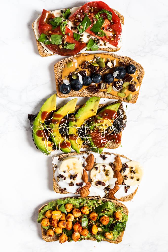 5 Vegan Breakfast Toast Ideas Emilie Eats