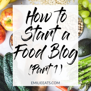 It's time to start a food blog! If you're confused about the first steps to take, this will walk you through domain names, hosting & design. You can do it!