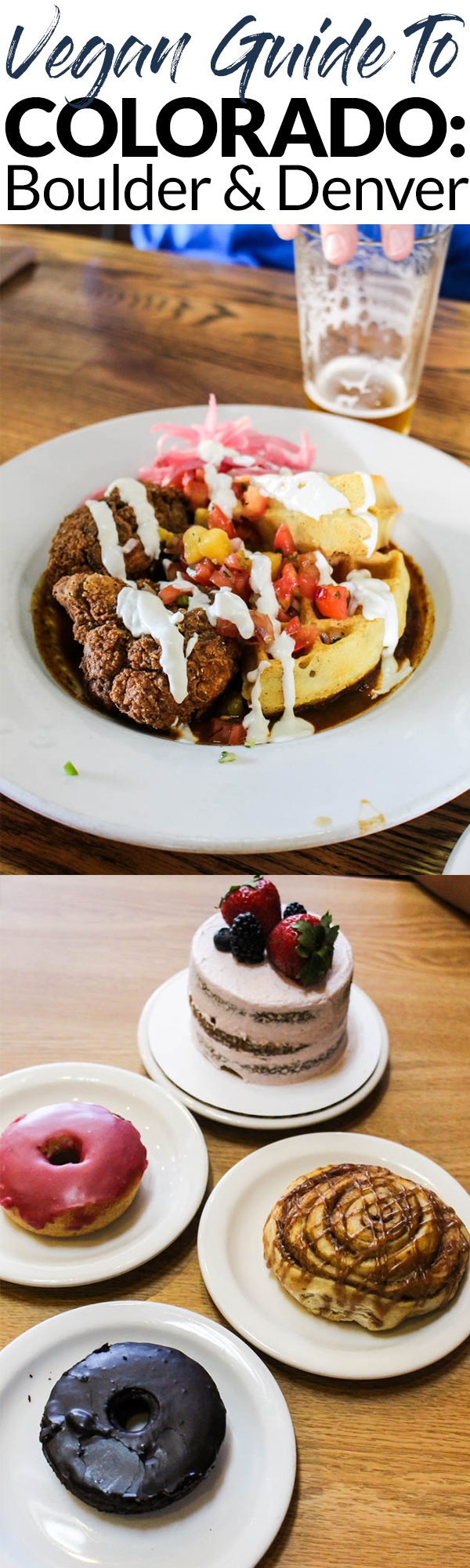 If you're traveling to Colorado soon, use this guide about eating vegan in Colorado to make finding restaurants easier! This covers the best vegan-friendly restaurants in the Boulder and Denver areas.