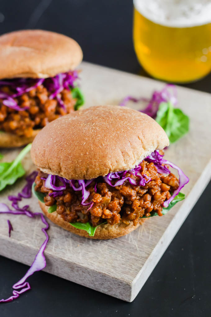 Look no further for a hearty, nourishing summer dinner recipe: these BBQ Lentil Sloppy Joes fit the bill! The lentils are made in the pressure cooker for ultimate convenience. (vegan & gluten-free)