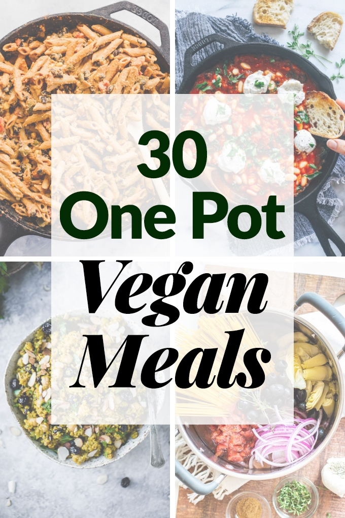 30 One Pot Vegan Meals – Emilie Eats