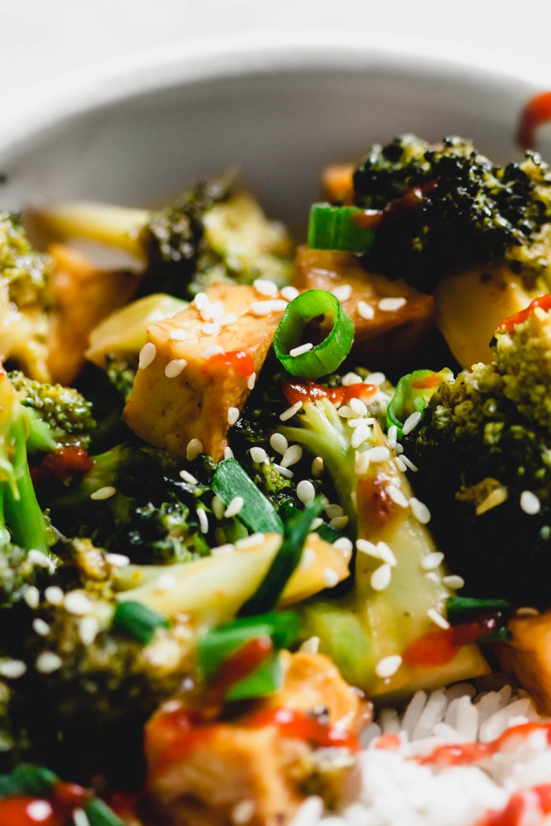 Vegan Takeout Tofu Broccoli