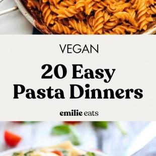 pasta dinners longform pin