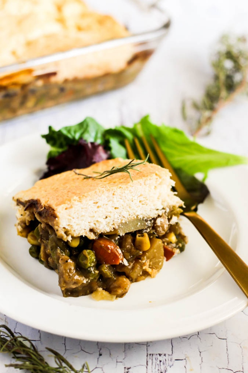 vegan pot pie pantry meal